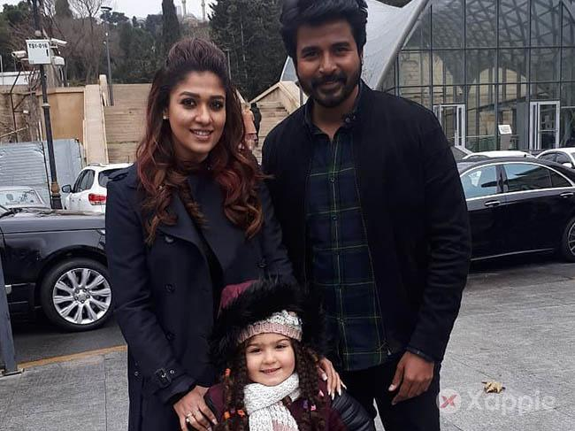 Nayanthara shares a cute moment with an Azerbaijan kid