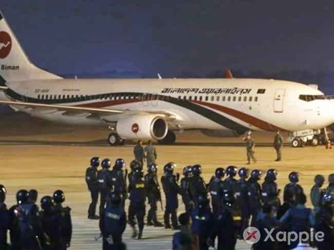 Hijack attempt on Bangladeshi Boeing BG147 plane