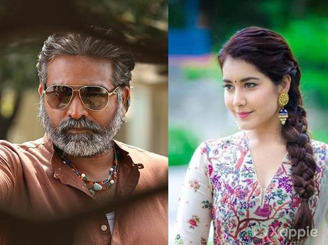 Raashi Khanna is onboard for Vijay Sethupathi's next