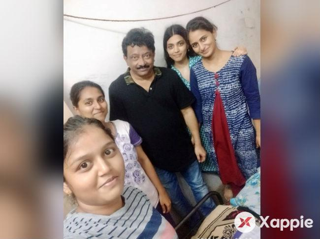 RGV visits girls hostel in Vijayawada
