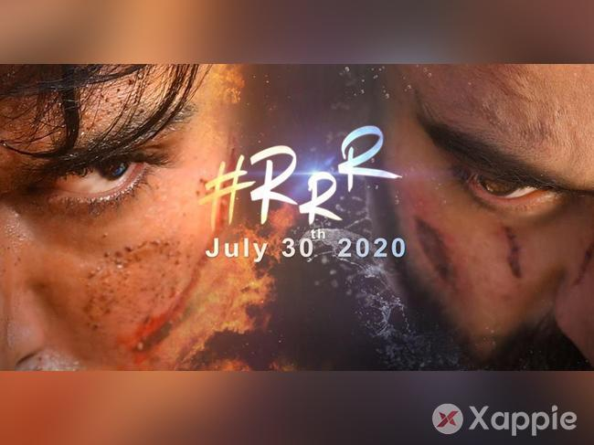 RRR all set to entice you on July 30, 2020
