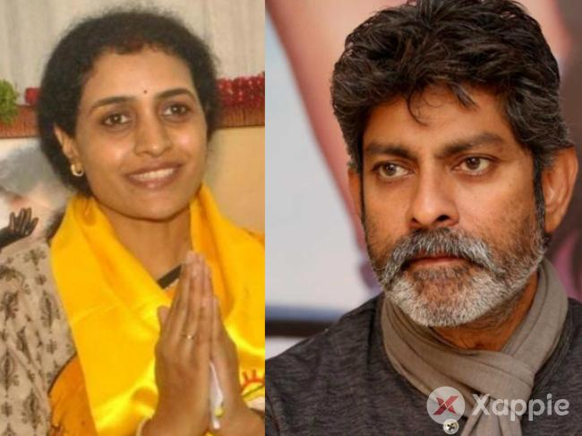 Jagapati Babu to Canvass for Nandamuri Suhasini