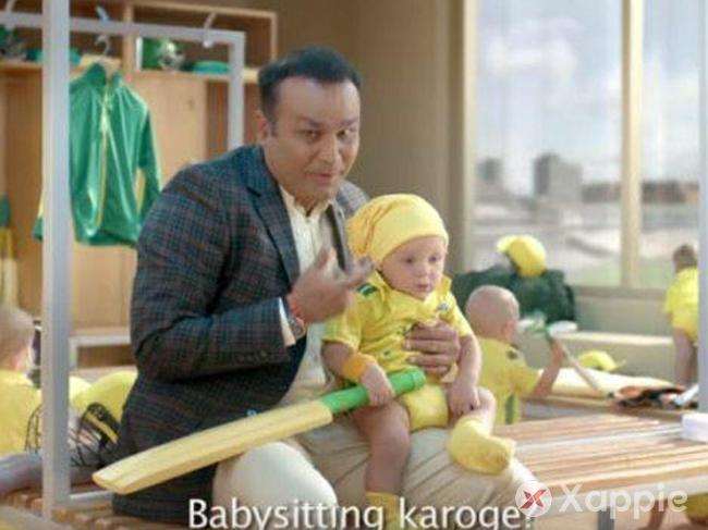 Sehwag's Babysitting Ad Going Viral