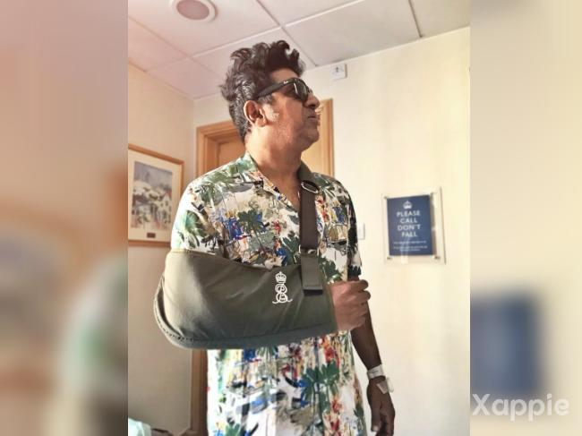 Shivrajkumar in recovery after shoulder surgery