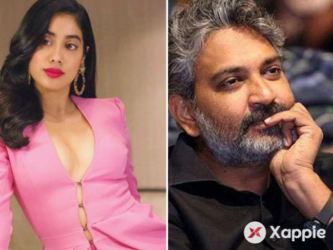 First it was Sridevi, now her daughter Janhvi says no to Rajamouli