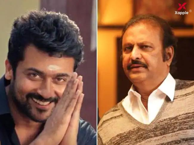 Mohan Babu to play a crucial role in Suriya's next