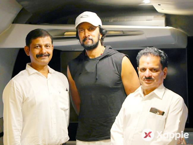 Kichcha Sudeep's voice over for the film Udhgarsha Trailer