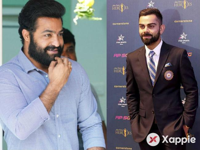 Jr NTR and Virat Kohil teaming up for a good cause