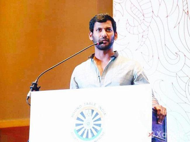 Producers protest against TFPC President Vishal, locks the council