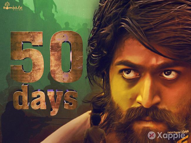 Pride of Kannada Cinema KGF completes tremendous 50 days