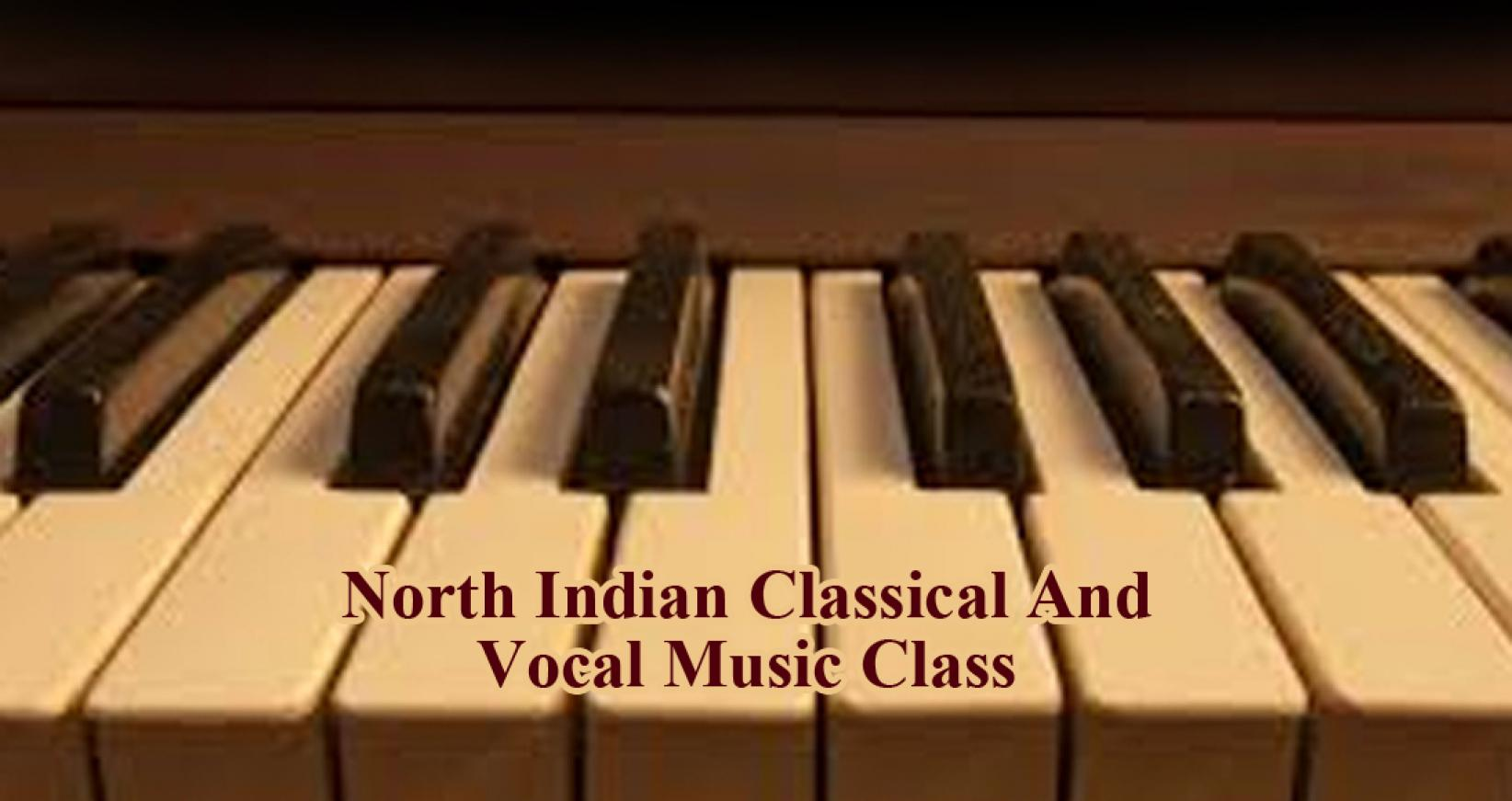 North Indian Classical And Vocal Music Class