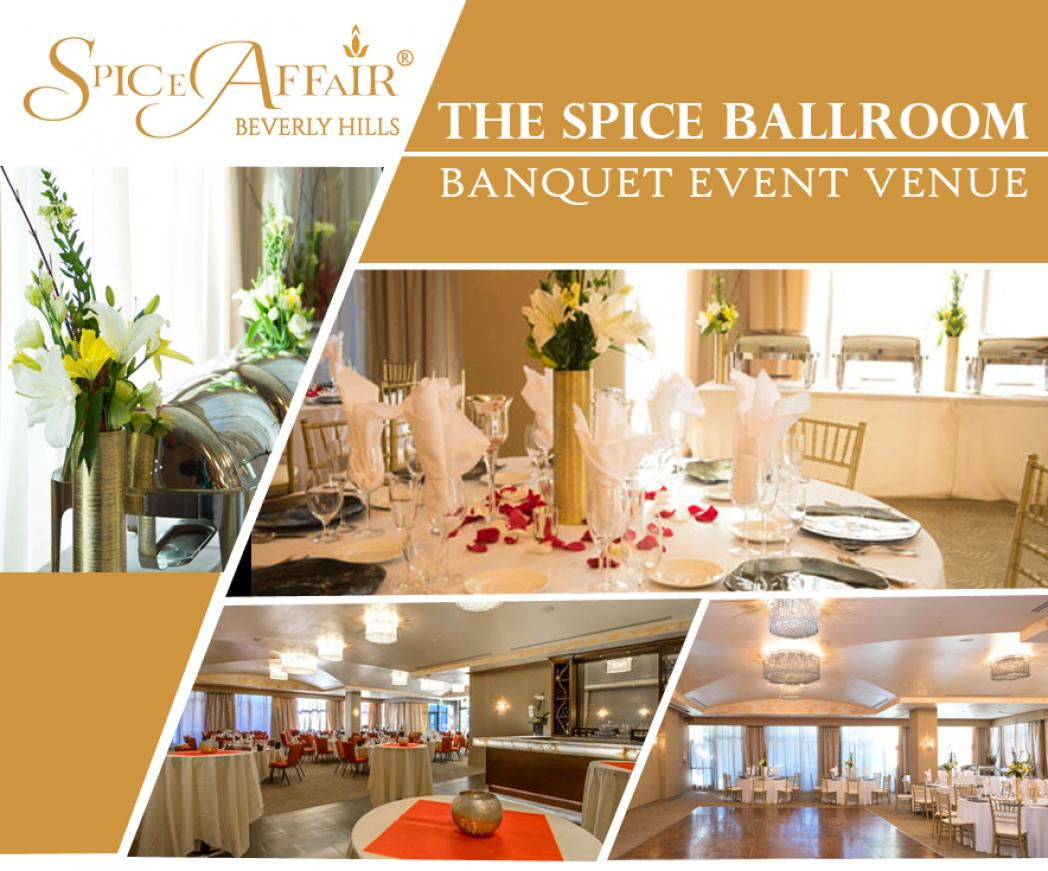 The Spice Ballroom Banquet Hall And Event Venue