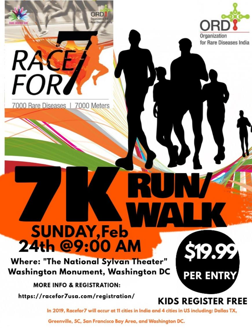 Race for 7 - 7K Run/Walk