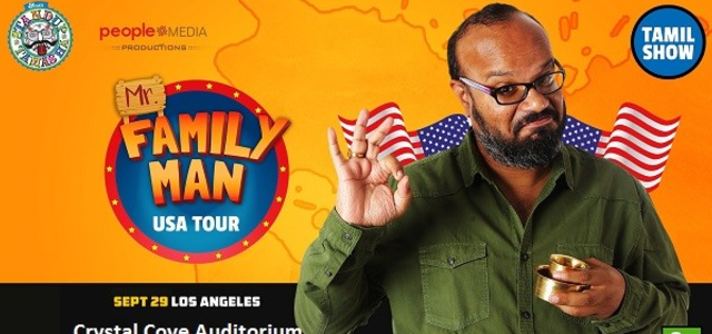 Praveen Kumar-s (Mr. Family Man) Stand-up comedy Live In Los Angeles