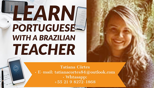 Learn Portuguese with a Brazilian Teacher
