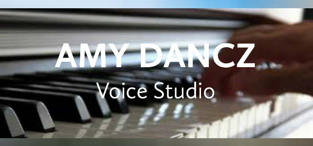 Amy Dancz Voice & Music Studio -- Singing, Piano, & Guitar Lessons