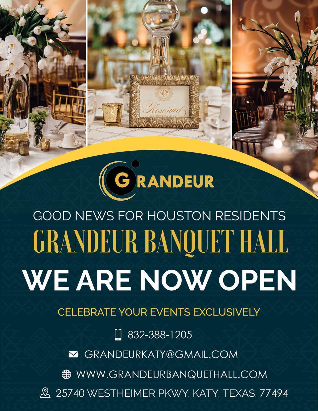 grandeur banquet hall xappie