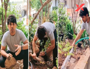 Allu Sirish accepts Green India Challenge thrown by Vishwak Sen; nominates his nephew and nieces to take up the task