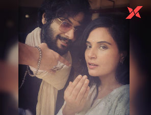 Ali Fazal and Richa Chadha share an adorable selfie on the occasion of Eid, quips that 'love isn't easy'