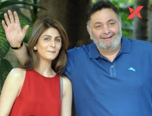 Riddhima kapoor asks mother Neetu Kapoor to stay strong after Rishi Kapoor's death: 'Got your back Ma'