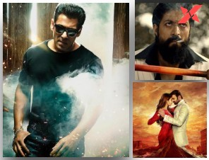 Salman Khan's Radhe to lock horns with Yash's KGF 2 and Prabhas' Radhe Shyam