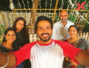 Karthi's selfie with 'Donga' film team goes viral