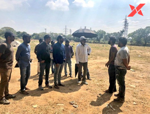 SS Rajamouli visits the sets of 'George Reddy' movie
