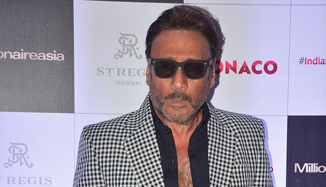 Jackie Shroff  At Cover Launch Of Millonaire Asia India
