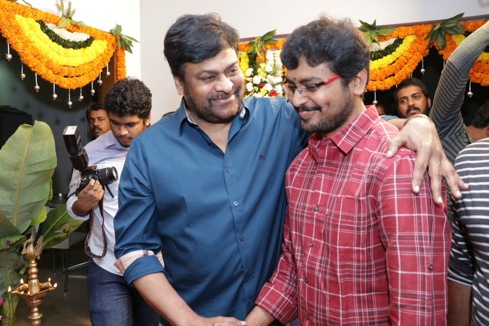 Chiranjeevi Son In Law Kalyaan Dhev's Debut Film Launched Stills