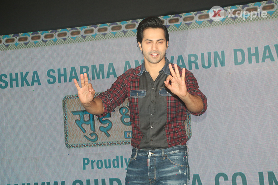 Varun Dhawan unveil of Sui Dhaaga website