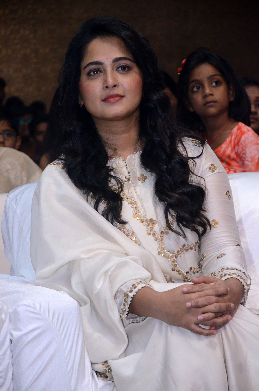 Actress Anushka Bhaagamathie Movie pre release function Stills