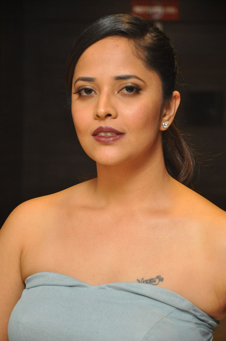 Anasuya Stills At Gayathri Movie Audio launch