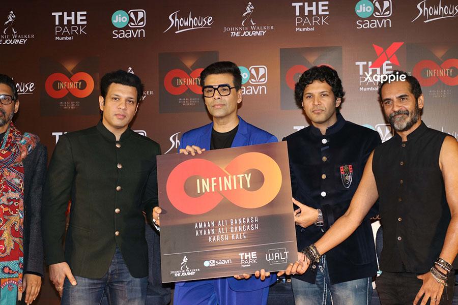 Launch of Amaan & Amaan Ali Bangash Music Album Infinity