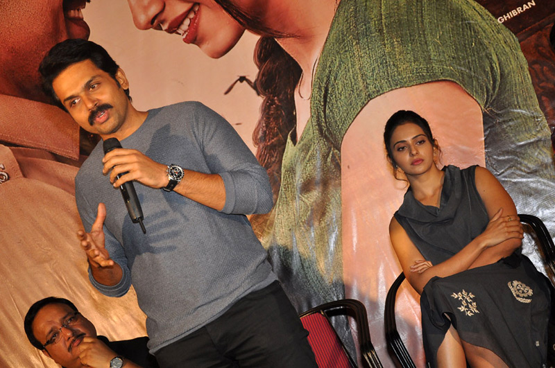 Khakee Movie Pressmeet Stills