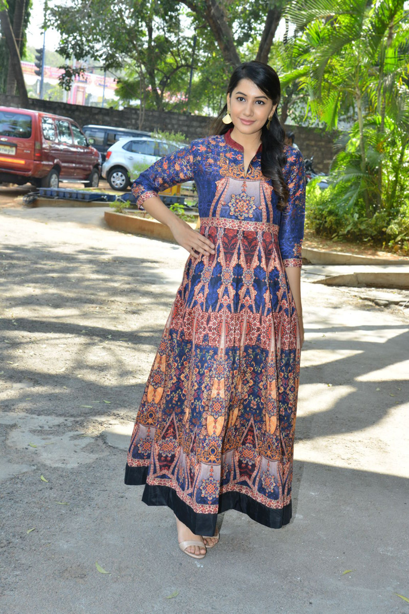 Ego Movie Heroine Simran Sharma at Movie Trailer Launch Function