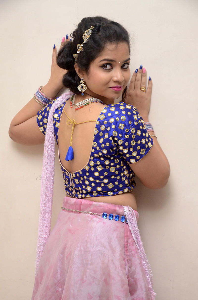 Actress Sirisha Dasari at her New Movie Photoshoot
