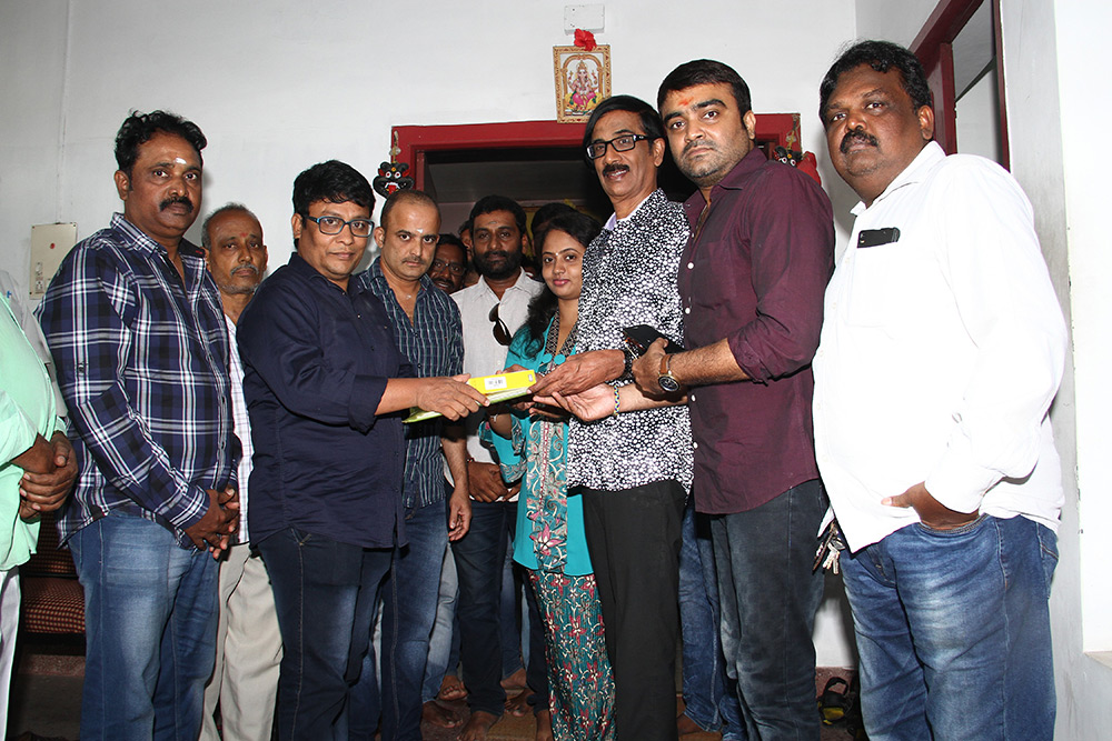 Utharavu Maharaja  Movie Dubbing Stills