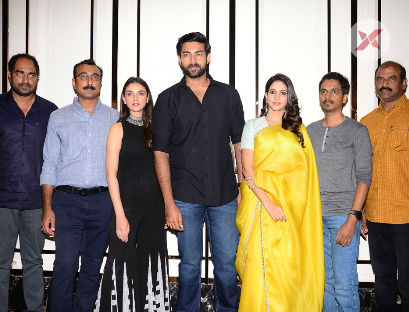 Antariksham 9000Kmph Movie Trailer Launch Photos