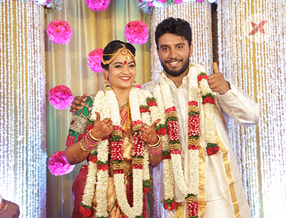 Actor Sivakumar and Actress Suja Varunee Marriage Photos