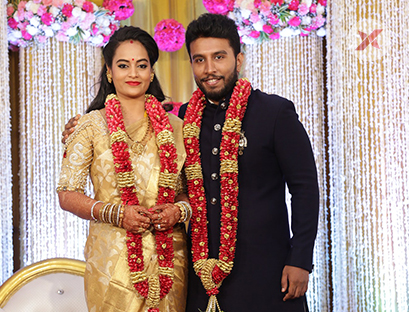 Actor Shivakumar  and Actress Suja Varunee Wedding Reception Stills