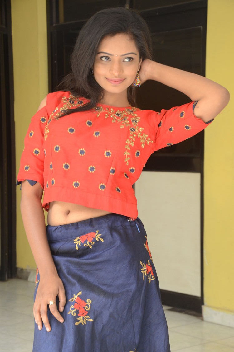 Harika Posing for a New movie