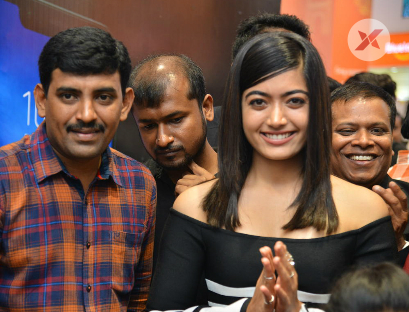 Actress Rashmika Mandanna Launches Happi Mobiles at Banjara Hills