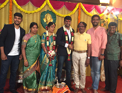 E Ramadoss Son Engagement