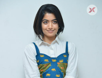 Rashmika Mandanna at Devadas Movie Success Meet Photos