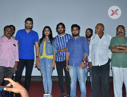 Subramanyapuram Movie Team at Arjun Theater Kukatpally Photos