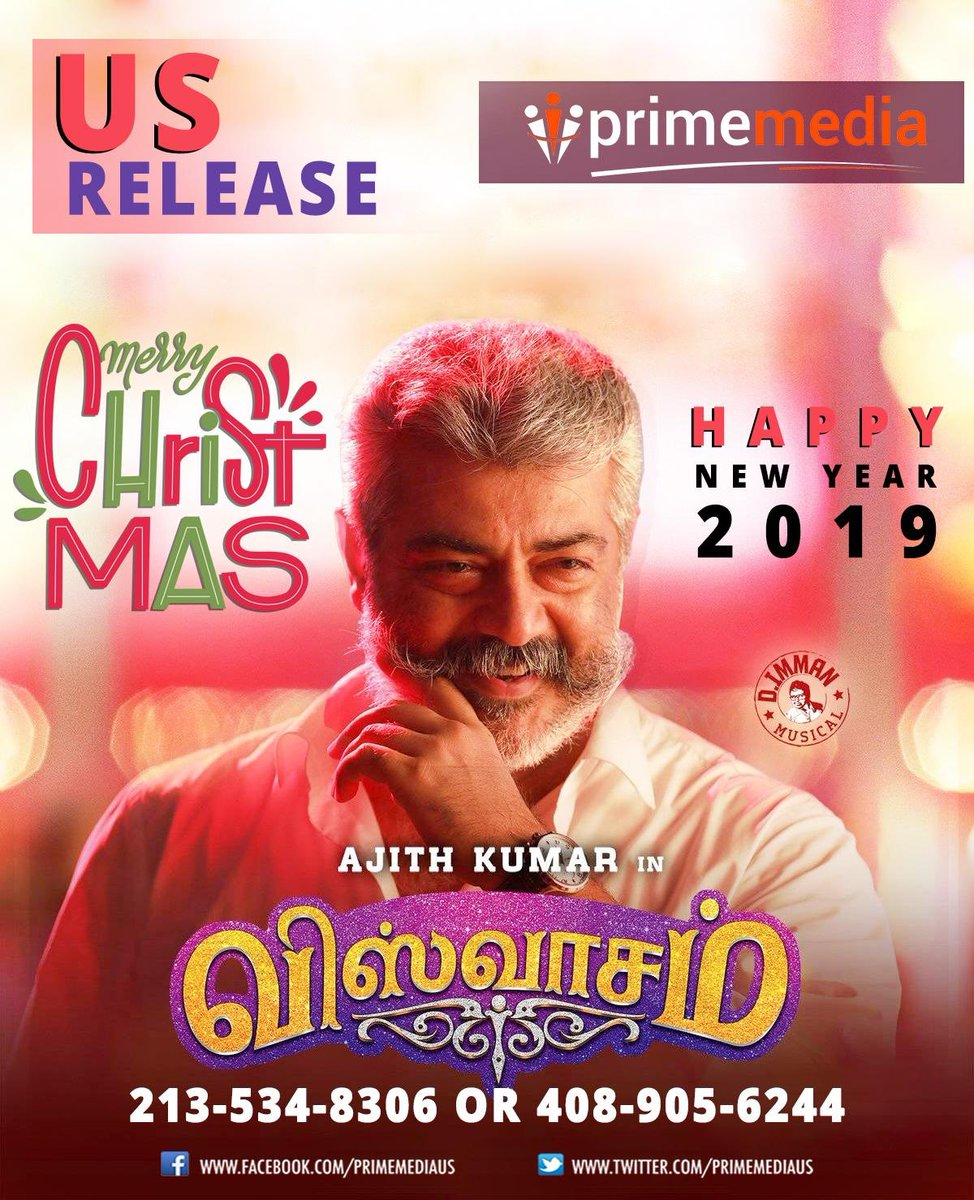Viswasam Showtimes in US