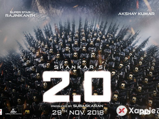 World-wide Break-up of Pre-release theatrical business of 2Point0