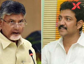 Babu asks Vamsi not to quit politics, Vallabhaneni replies with a return letter