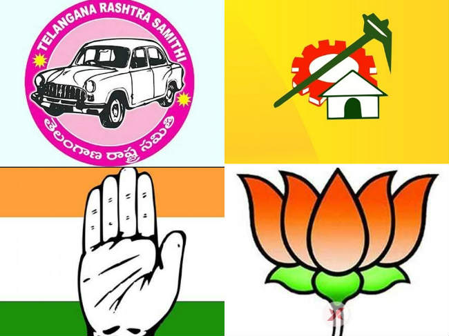 Parties express confidence with regards to Telangana elections
