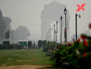 Delhi's breathing air quality slips from poor to very poor.